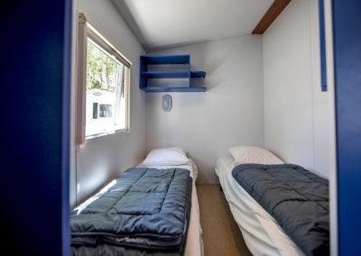 intérieur Mobil-home 3 chambres, pouvant accueillir 6 personnes